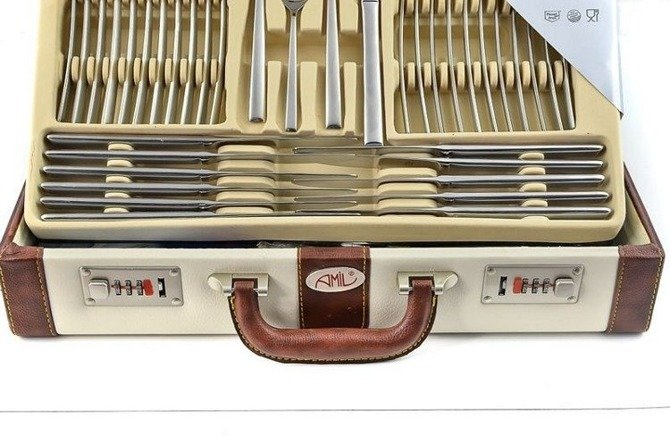 Cutlery Amil Bestecke Germany 72pcs Lost (Satin) 8700