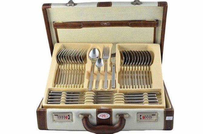 Cutlery set Amil Bestecke Germany 72pcs Daisy