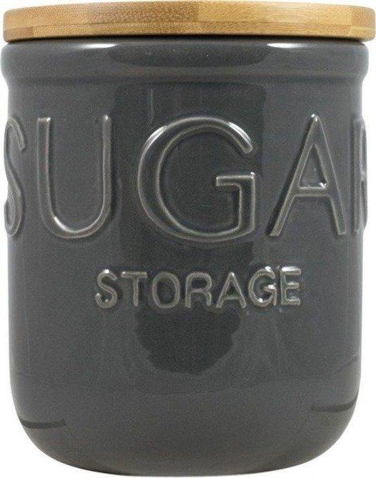 Pojemnik ceramiczny DMD na cukier z pokrywką