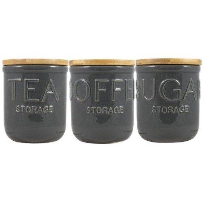 (OUTLET -50%) Pojemnik ceramiczny DMD na cukier z pokrywką