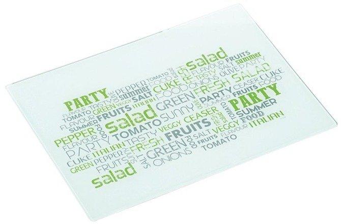 Deska szklana KESPER 40 x 30 - Party Salad