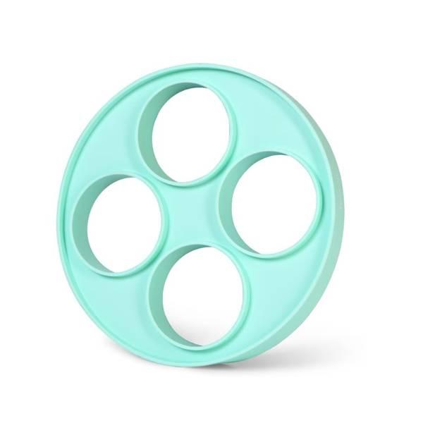 Forma silikonowa do jajek placków naleśników Fissman 4 oczka 22cm