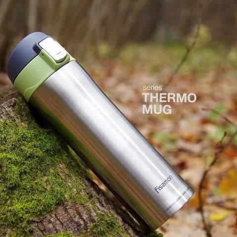 Kubek termiczny 420ml Fissman zielony