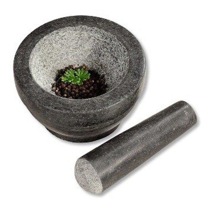 Moździerz granitowy czarny Ø 16 cm KESPER