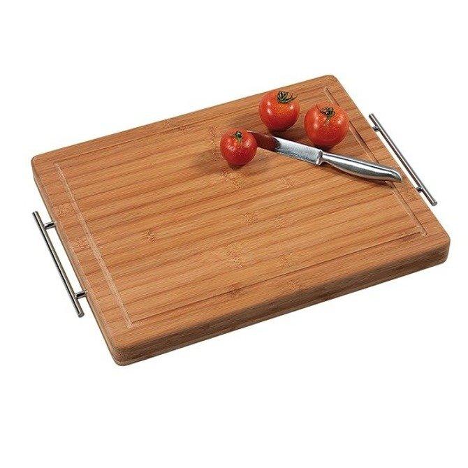 Profesjonalna deska bambusowa z uchwytami 44x28cm (koniec produkcji)