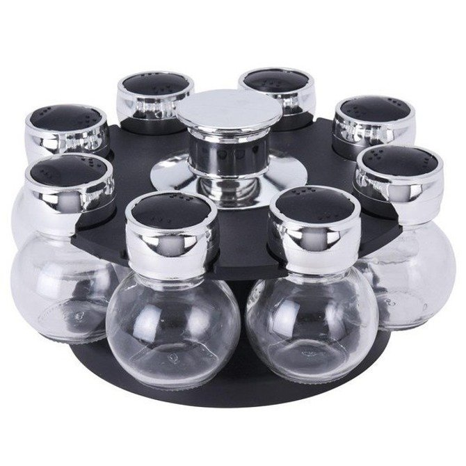 Przyprawnik obrotowy na przyprawy 8 słoiczków Excellent Houseware