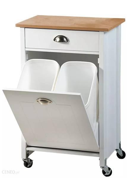 Szafka kuchenna z pojemnikami do segregacji śmieci Kesper 50 x 79 x 37 cm