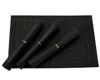 Zestaw mat kuchennych 4szt Gipfel Eden 45x30 cm czarne